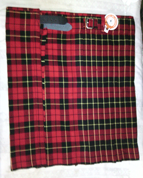 Mens Wallace Basic Kilt.